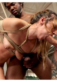 The Kinky Anniversary: Petite Girlfriend Aggressively Fucked by 5 Guys